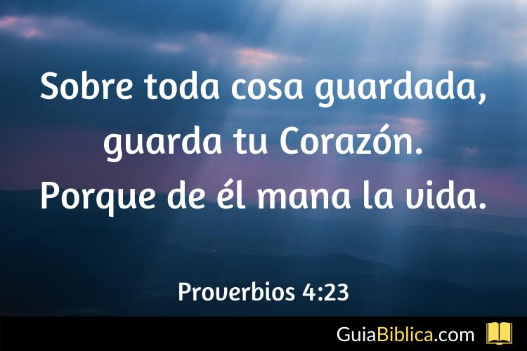 Proverbios 4-23