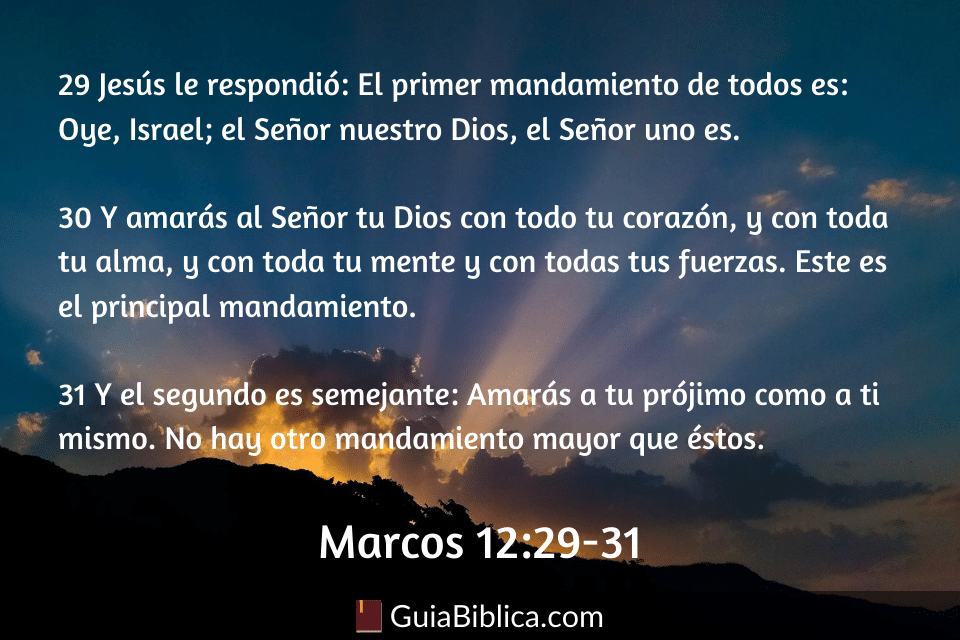 Marcos 12_29-31